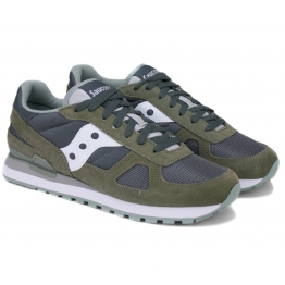 SAUCONY SHADOW ORIGINAL 2108-685 44(10)(р) Кроссовки Grey/Oliva Материал