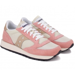 SAUCONY JAZZ O VINTAGE S60368-31 36(5,5)(р) Кроссовки White/Pink Замша Материал