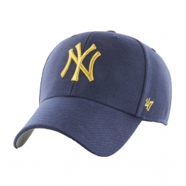 КЕПКА 47 BRAND SNAPBACK METALLIC NEW YORK MTLCS17WBP-LN Navy