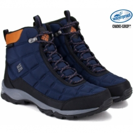 БОТИНКИ COLUMBIA FIRECAMP BOOT 1672881-464 43(10)(р) Black Полиэстер