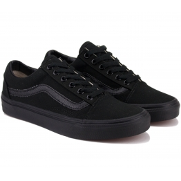 КЕДЫ VANS CANVAS OLD SKOOL D3HBKA 41(8,5)(р) Black Замша