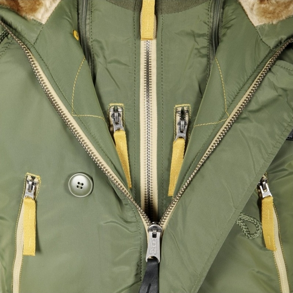 ALPHA INDUSTRIES N-3B INCLEMENT MJN44512C1 2XL(р) Sage нейлон