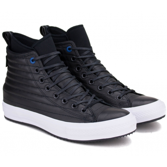 КЕДЫ CONVERSE CHUCK TAYLOR WATERPROOF BOOT LEATHER 157492C 41(7,5)(р) Black 100% Кожа