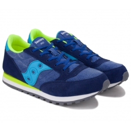 SAUCONY JAZZ ORIGINAL  SY55550 37,5(5,5)(р) Кроссовки Navy Замша/Материал