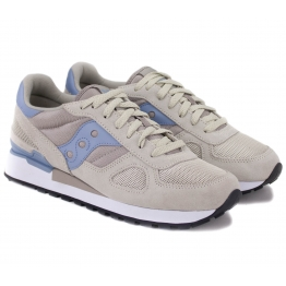 SAUCONY SHADOW ORIGINAL S1108-630 36(5,5)(р) Кроссовки Beige/BLlue Замша/Материал