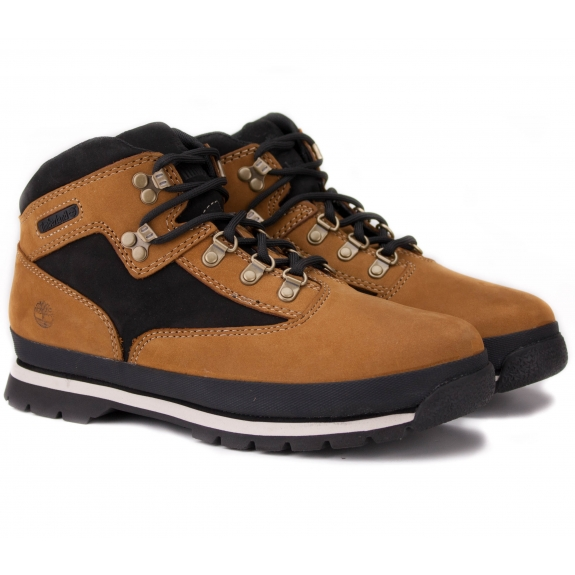 TIMBERLAND EURO HIKER A1LYJ 36(4)(р) Ботинки Black/Yellow Нубук