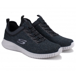 КРОССОВКИ SKECHERS 52642 BKGY ELITE FLEX (KM2835) 44(10,5)(р) Grey Текстиль