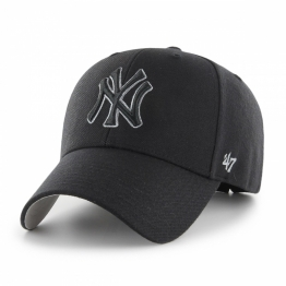 КЕПКА 47 BRAND NEW YORK YANKEES MVP17WBV-BKF O/S(р) Black Шерсть