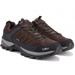 БОТИНКИ CMP RIGEL LOW TREKKING 3Q13247-61BN 40(р) Brown Нубук