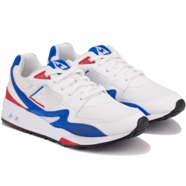 КРОССОВКИ LE COQ SPORTIF R800 1910530-LCS 37(4)(р)  White/Navy/Red Кожа
