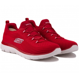 КРОССОВКИ SKECHERS SUMMITS 149036 RED (KW5333) 37(7)(р) Red Текстиль
