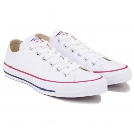 КЕДЫ CONVERSE CHUCK TAYLOR ALL STAR LEATHER 132173C 37(4,5)(р) White 100% Кожа