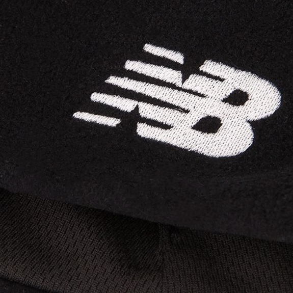 ШАПКА NEW BALANCE HEAVY WEIGHT FLEECE 500170-001 O/S(р) Black Флис