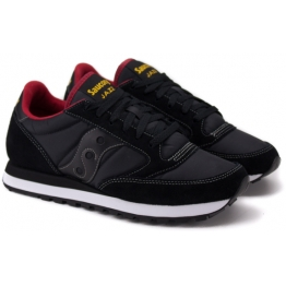 SAUCONY JAZZ ORIGINAL 2044-251 42(8,5)(р) Кроссовки Black/Red Замша
