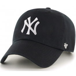 47 BRAND CLEAN UP NY YANKEES RGW17GWS-BKD O/S(р) Кепка Black Материал