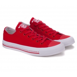 CONVERSE CHUCK TAYLOR ALL STAR OX 159588C 37(4,5)(р) Кеды Red Материал