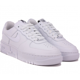 Кроссовки Nike Air Force 1 Pixel CK6649-100 White Кожа