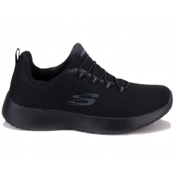 КРОССОВКИ SKECHERS DYNAMIGHT 12119 BBK (KW4449) 37(7)(р) Black/Black Текстиль