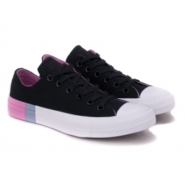 CONVERSE CHUCK TAYLOR ALL STAR OX 159521C 36(3,5)(р) Кеды Black/Light Orchid/White Материал