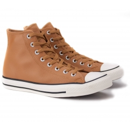 CONVERSE CHUCK TAYLOR ALL STAR HI 157467C 45(11)(р) Кеды Dark Brown 100% Кожа