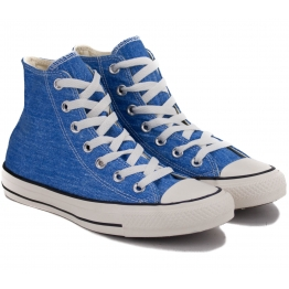 КЕДЫ CONVERSE CHUCK TAYLOR ALL STAR HI 147036C 37(4,5)(р) Sapphire Текстиль