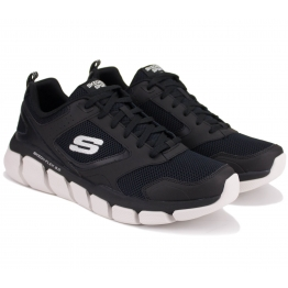 КРОССОВКИ SKECHERS RELAXED FIT 52844/BKW(KM3087) 41(8)(р) Black Текстиль