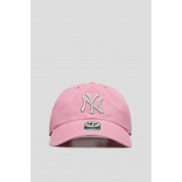 Кепка 47 Brand New York Yankees Metallic B-MTCLU17GWS-RS Pink Хлопок