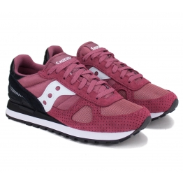 КРОССОВКИ SAUCONY SHADOW ORIGINAL S2108-695 45(11)(р) Red/Black Замша/Текстиль