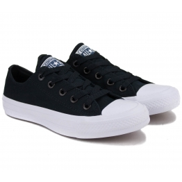 КЕДЫ CONVERSE CHUCK TAYLOR ALL STAR II 150149C 36(3,5)(р) Black/White Текстиль
