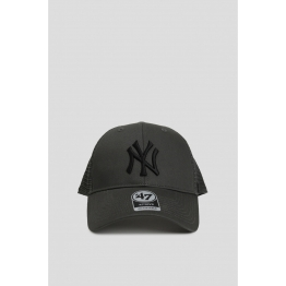 Кепка 47 Brand Branson New York Yankees B-BRANS17CTP-CCA Grey Хлопок