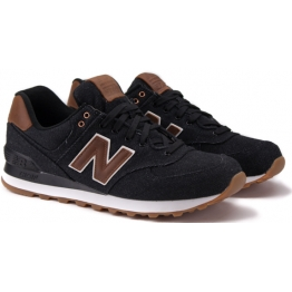 NEW BALANCE ML574TXA 42(8,5)(р) Кроссовки Black/Brown Материал