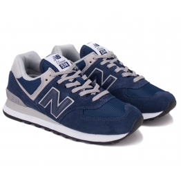 NEW BALANCE ML574EGN 42(8,5)(р) Кроссовки Navy Замша/Материал