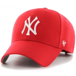 47 BRAND MVP NY YANKEES MVP17WBV-RD O/S(р) Кепка Red Материал