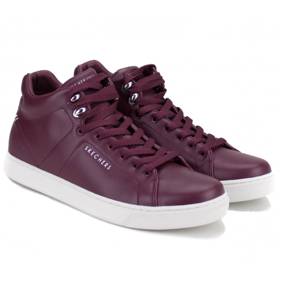 КРОССОВКИ SKECHERS 73605BURG PRIMA LEATHER LACERS (KW4573) 38(р) Bordo Кожа
