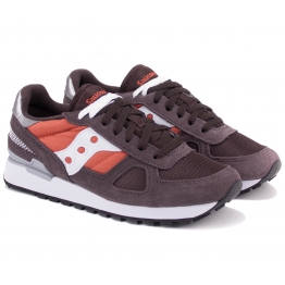 КРОССОВКИ SAUCONY SHADOW ORIGINAL S2108-700 44(10)(р) Brown/Orange Замша