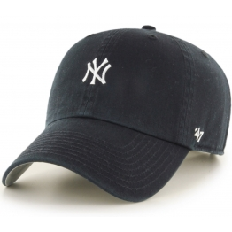 47BRAND BASE RUNNER NEW YORK YANKEES B-BSRNR17GWS-BK O/S(р) Кепка Black Материал