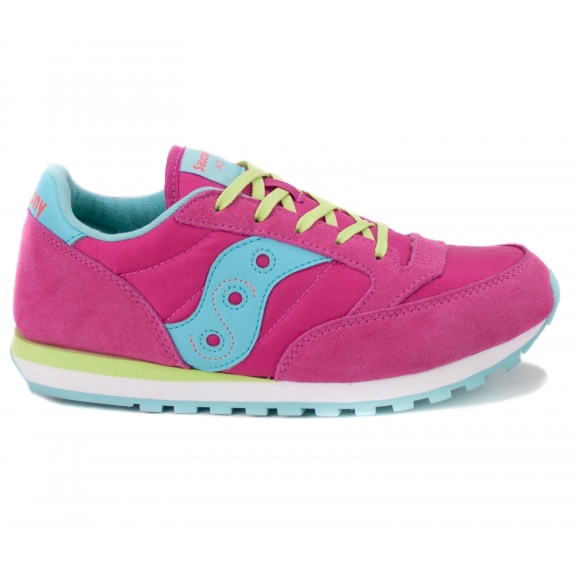 SAUCONY JAZZ ORIGINAL SY55999 38(6)(р) Кроссовки Fuxia Замша/Материал