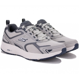 КРОССОВКИ SKECHERS GO RUN 220034 GYNV (KM3483) 41(8)(р) Grey Текстиль