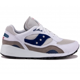 КРОССОВКИ SAUCONY SHADOW 6000 70441-1S 42(8,5)(р) White/Navy Замша