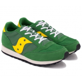 SAUCONY JAZZ O VINTAGE SY59167 36,5(4,5)(р) Кроссовки Green/Yellow Замша/Материал