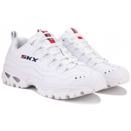 КРОССОВКИ SKECHERS ENERGY 51829 WML (KM3390) 41(8)(р) White Кожа