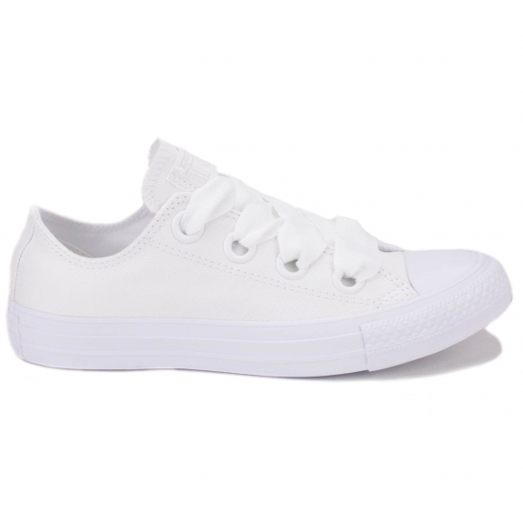CONVERSE CHUCK TAYLOR ALL STAR BIG EYELETS OX 559927C 40(9)(р) Кеды White/White Текстиль