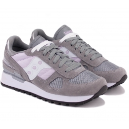 КРОССОВКИ SAUCONY SHADOW ORIGINAL S1108-705 40(8,5)(р) Grey/Pink Замша