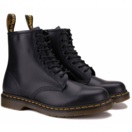 DR.MARTENS SMOOTH 10072004-1460 40(6,5)(р) Ботинки Black 100% Кожа