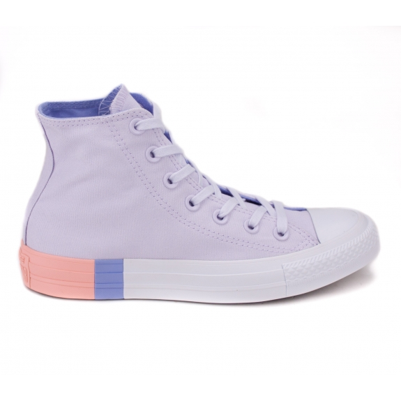 CONVERSE CHUCK TAYLOR ALL STAR HI 159520C 36(3,5)(р) Кеды Barely Grape/Twilight Pulse Материал