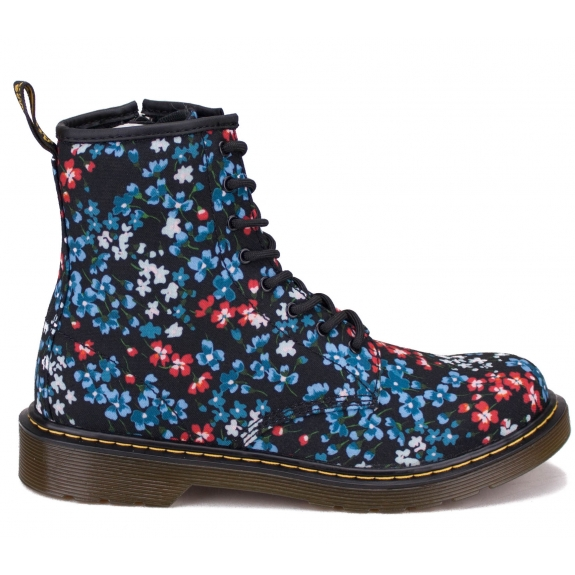 БОТИНКИ DR.MARTENS 1460 KELLY FLORAL 22994403 38(5)(р) Black Canvas