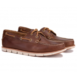 TIMBERLAND TIDELANDS 2 EYE A1BHL 41(7,5)(р) Топ-сайдер Brown 100% Кожа