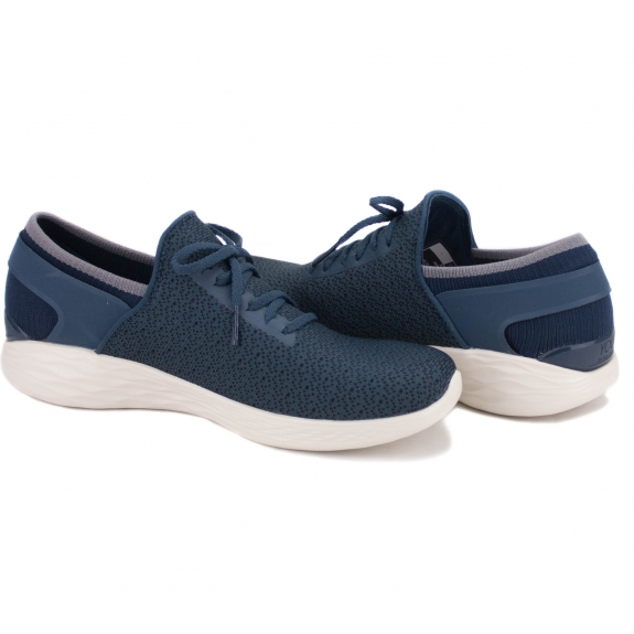 SKECHERS YOU INSPIRE 14950 NVY (KW4223) 38(8)(р) Кроссовки Navy Материал