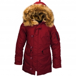 ALPHA INDUSTRIES ALTITUDE W WJA44503C1 XS(р) Red Ochre нейлон