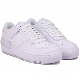 Кроссовки Nike Air Force 1 Shadow CI0919-100 White Кожа